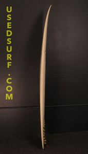 """6'0"""" Nezzy Shapes """"DB's Step Up"""" Used Surfboard #24980"""