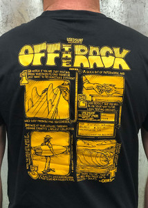 """USEDSURF """"Off The Rack"""" T-shirt in Black"""