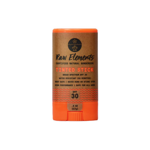 Raw Elements Tinted Face Stick SPF 30