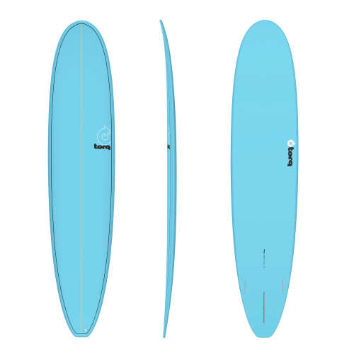 "9'0"" TORQ EPOXY LONGBOARD BLUE PINLINE NEW SURFBOARD"