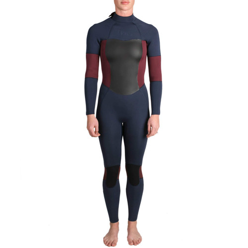 Imperial Motion Luxxe Delux Womans Wetsuit Back Zip 3/2 Fullsuit