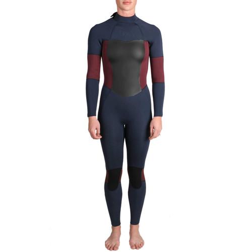 Imperial Motion Luxxe Delux Womans Wetsuit Back Zip 3/2 Fullsuit