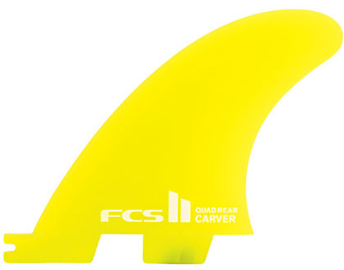 FCS II Carver Neo Glass Quad Rear Set