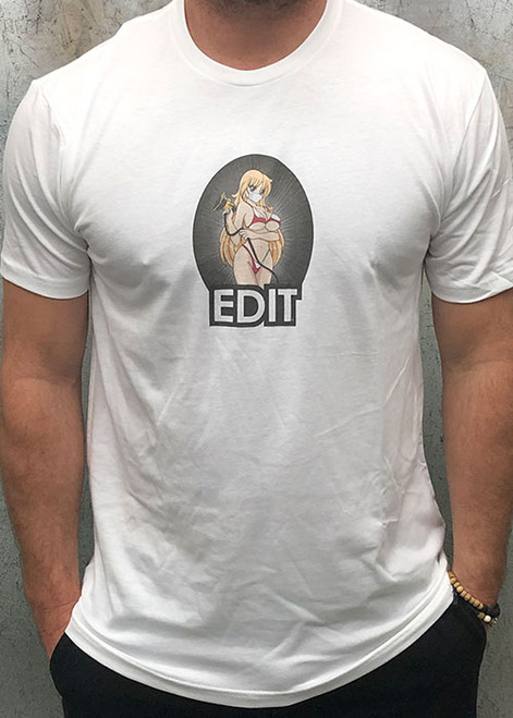 "EDIT ""Sander Girl"" T-Shirt in White"