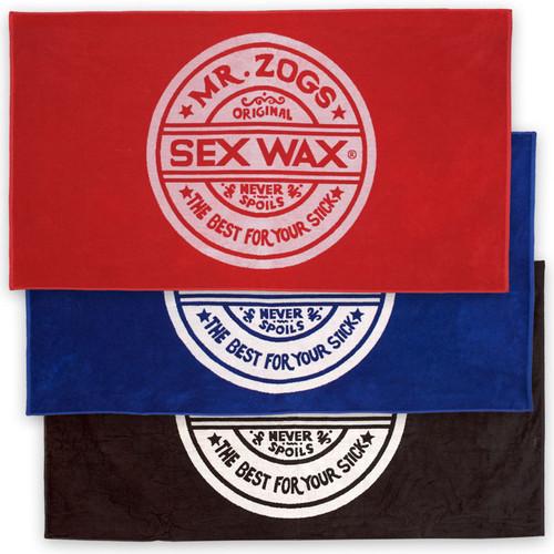 Sex Wax Beach Towel