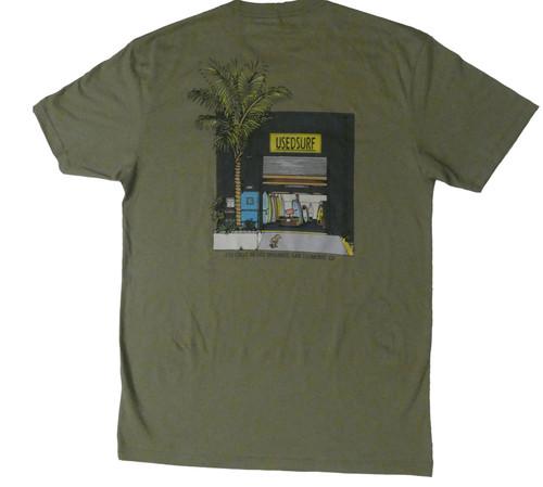 Panchito Bandito T-Shirt In Olive Green
