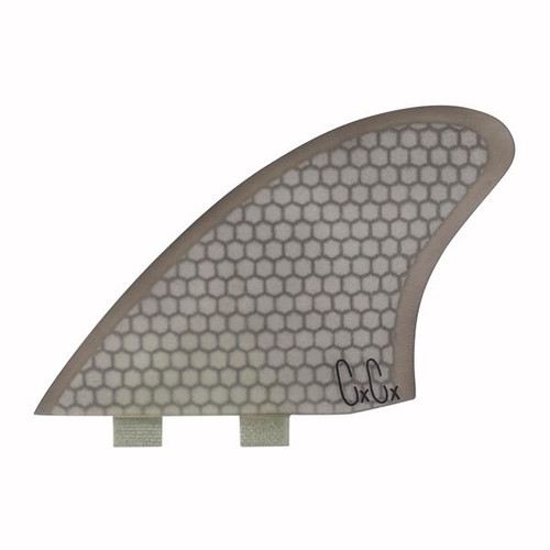 Captain Fin Co (FCS Compatible) Christenson Twin Honeycomb Smoke