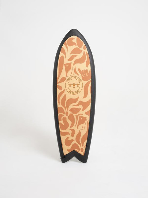 """5'3"""" Positive Vibes Warrior """"Thrill - Stoke"""" 43 cL New Surfboard"""