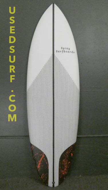 """5'10"""" Spicy Surfboards New Surfboard #30101"""