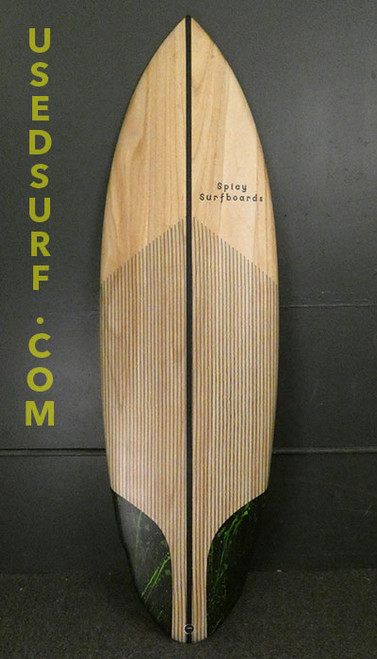 """5'10"""" Spicy Surfboards New Surfboard #30100"""