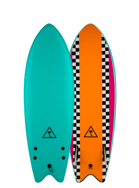 """5'6"""" Catch Surf """"Heritage Rero Fish"""" 45cL New Surfboard"""