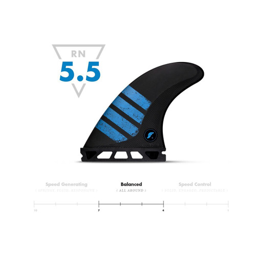 FUTURES FINS F6 ALPHA THRUSTER - MEDIUM
