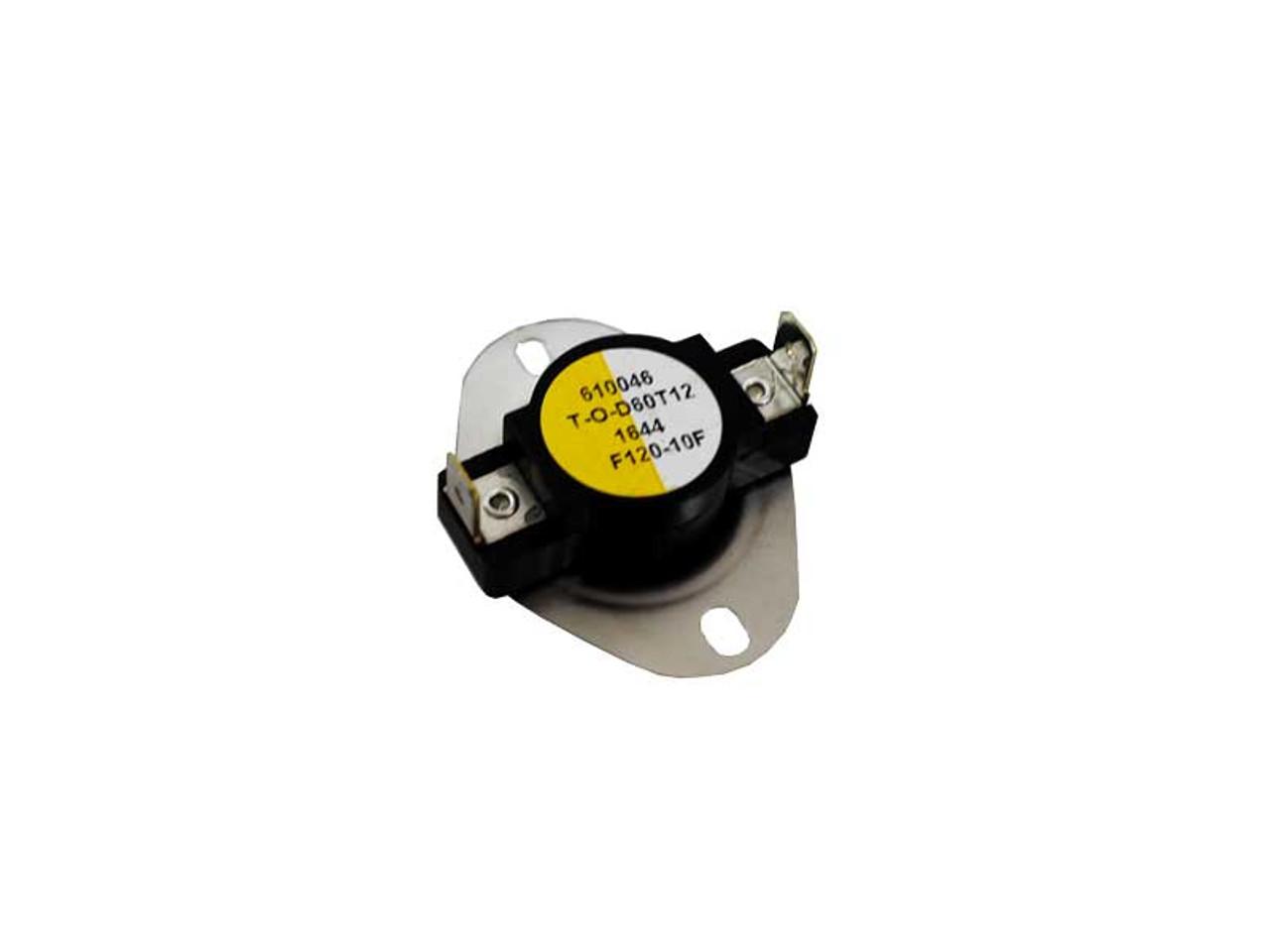 Low Limit Fan Switch - Snap Disc 120 (13-1122)