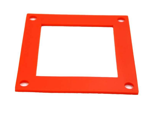 Orange High Temp Silicone Convection Blower Gasket (15-1033)