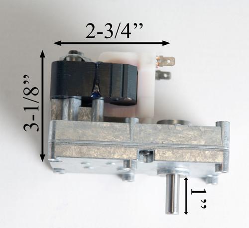 Merkle-Korff 2RPM CCW Auger Motor (812-1220)