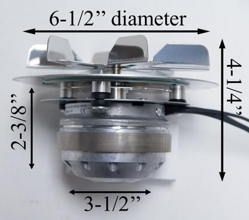 Austroflamm Integra EBM Combustion Blower Motor (102831)