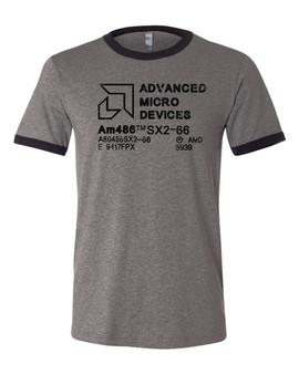 AMD Classic Ringer T-shirt