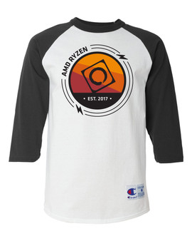 AMD RYZEN Baseball Shirts