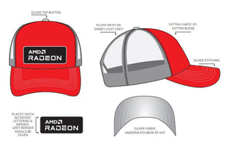 AMD RADEON Custom Trucker Hat