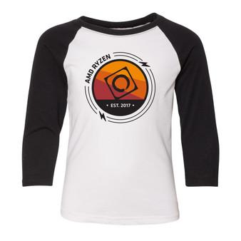 YOUTH - AMD RYZEN Baseball shirts