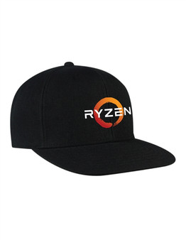 AMD RYZEN Flat Visor Classic Snapback Cap