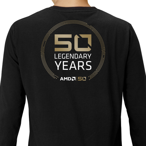 Commemorative Long Sleeve Ts Limited Edition – AMD|50