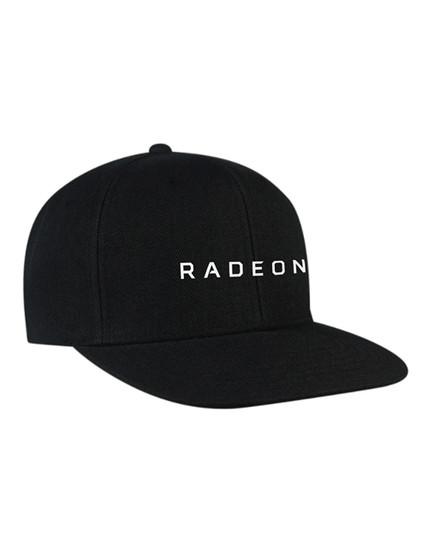 AMD RADEON GRAPHICS Flat Visor Classic Snapback Cap