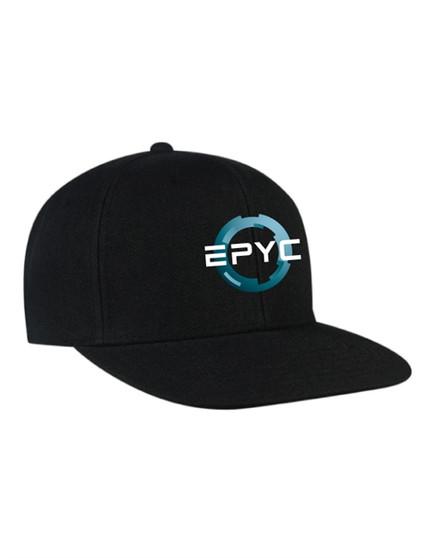 AMD EPYC Flat Visor Classic Snapback Cap