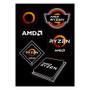 AMD RYZEN Brand Sticker Sheet