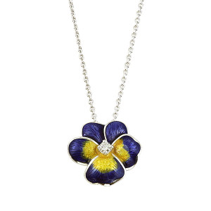 Pansy Necklace