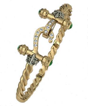 Santa Maria Elite Armada Hook Bracelet