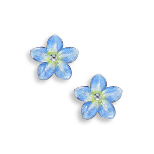 "Sterling Silver ""Forget me Not"" Stud Earrings"