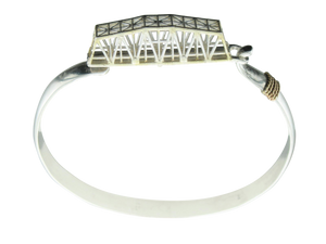 Swing Bridge Hook Bracelet