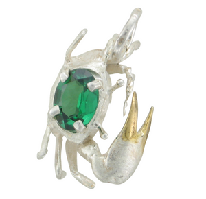 """Freddy"" the Fiddler Crab Pendant"