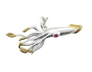Squid Pendant