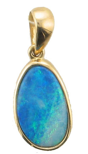 14 KYG opal pendant