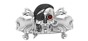 Jolly Roger Ring - Mens