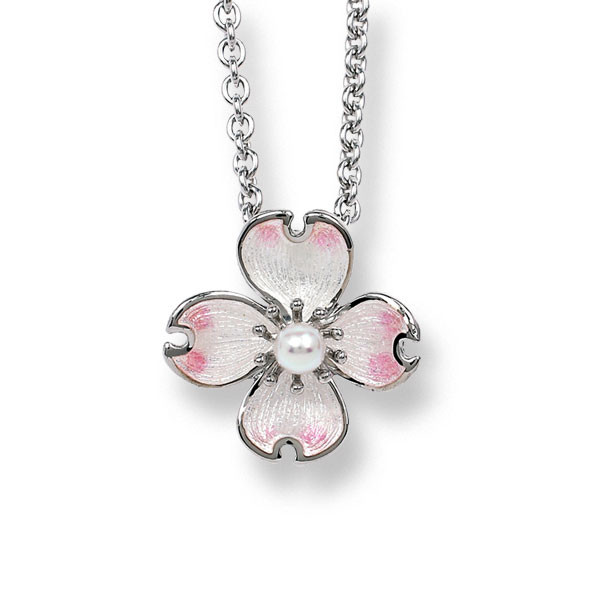 Dogwood Flower Necklace