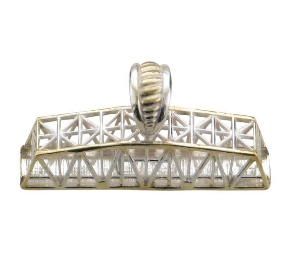 SS Swing Bridge Pendant