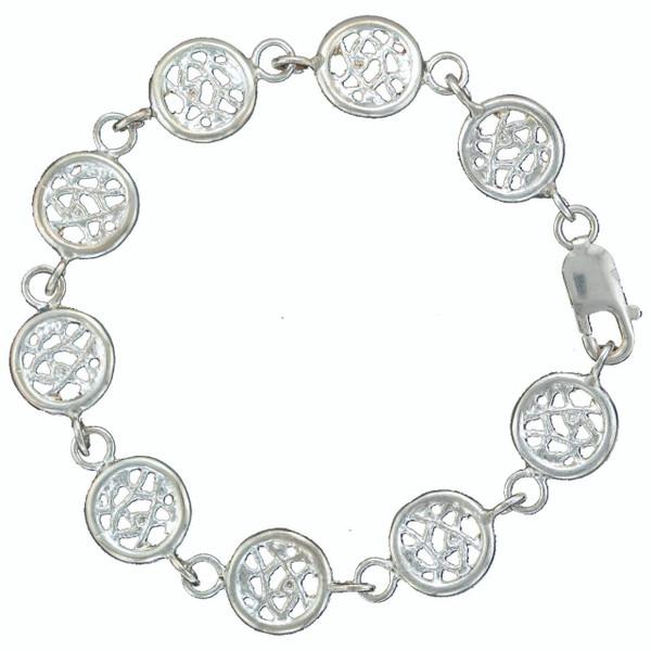 Sea Fan Link Bracelet
