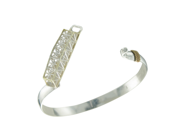 Swing Bridge Hook Bracelet