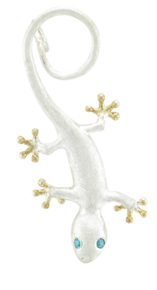 SS Gecko Pendant