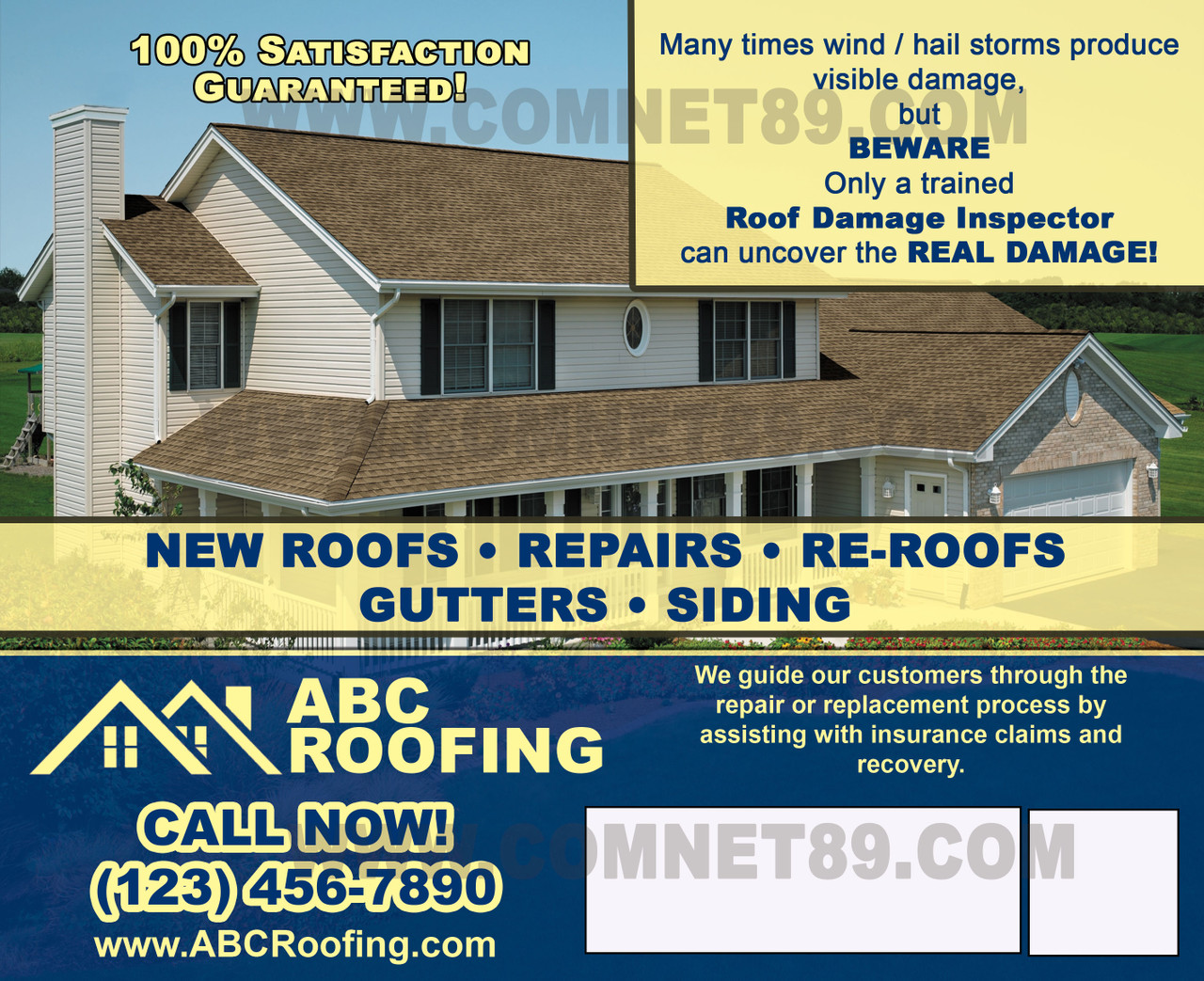 Roofing Postcard 07