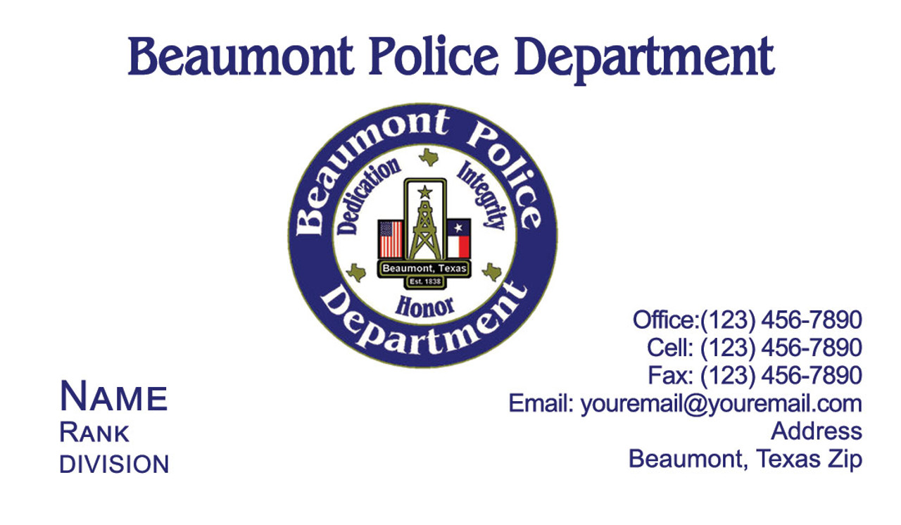 BPD Business Card #3