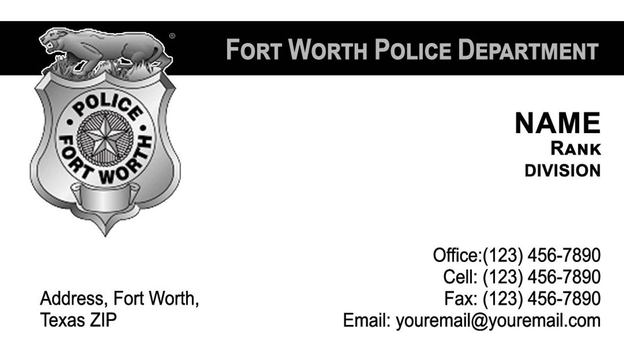 FWPD Business Card #6