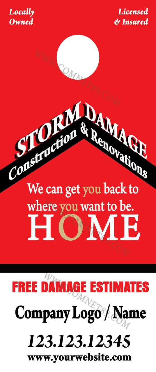 Remodeing & Restoration Door Hanger 05