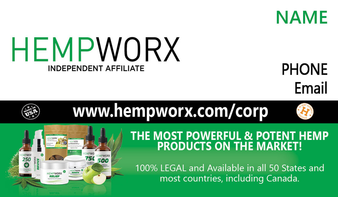 Hemworx Business Card #2