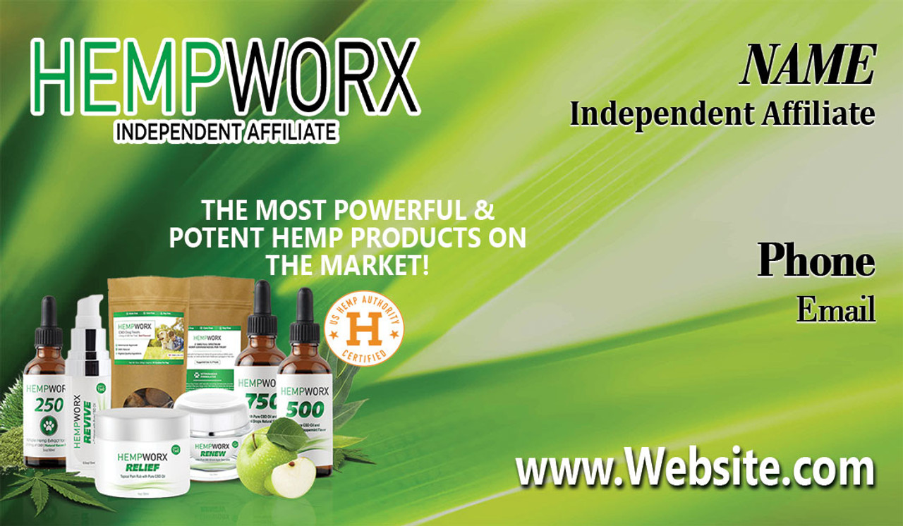 Hemworx Business Card #3