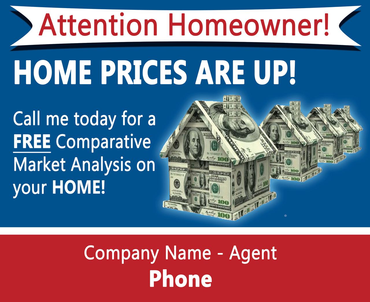 Real Estate EDDM Postcard #1