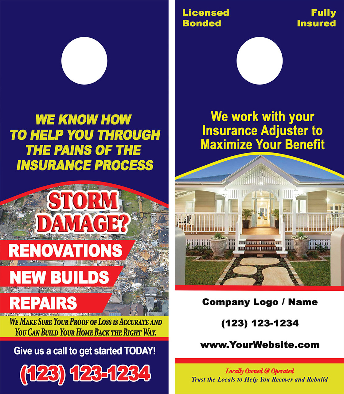 Remodeing & Restoration Door Hanger 08